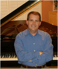 Your piano teacher, Craig Lynch